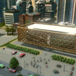 【CG】UE4上でSpeed Level Designして造った建物をCities: Skylinesにインポートする【ゲーム】
