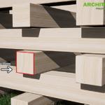 【CG】木材の側面のテクスチャをお手軽に作る【Photoshop】