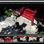 【3DF Zephyr】浅草寺 薬師堂を4K動画で録画して3D図形を起こす(フォトグラメトリ)