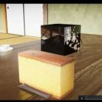 【実験】UE4 ArchViz Japan 和室にテーブルや和菓子を設置していく