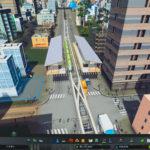 【DL】雲の上の駅舎【メッシュ】