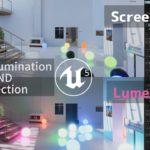 【実験】UE5: グローバルイルミネーションと反射について従来設定とLumenの比較 (Emissive Light編)
