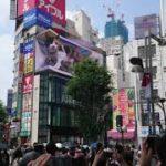 【話題】新宿のビルの巨大猫。と周囲の様子を撮影してきた(4K)