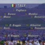 FIFAワールドカップ1994アメリカ大会決勝「ブラジル×イタリア」